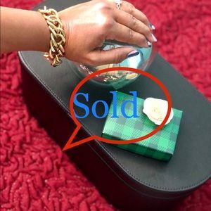 St John knits designer bracelet